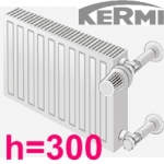 Высота радиатора 300 мм