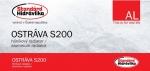 Радиатор алюминиевый STANDARD HIDRAVLIKA OSTRAVA S200
