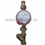 Счетчик воды для горячего водоснабжения ВИР-М СГВ ДУ15