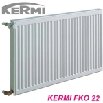 Радиатор стальной KERMI 400x400 тип 22 c боковым подключением
