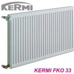 Радиатор стальной KERMI 300x400 тип 33 c боковым подключением