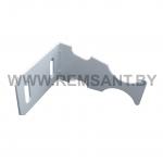 Кронштейн угловой для крепления алюминиевых радиаторов